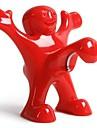 Flasköppnare Rostfritt stål Silikon, Vin Tillbehör Hög kvalitet KreativforBarware 9.5*8.5*5.5 0.045