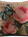 1 buc Bumbac/In Față de pernă,Floral Țara