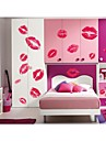 Romantik Tecknat Väggklistermärken Väggstickers Flygplan Dekrativa Väggstickers, Vinyl Hem-dekoration vägg~~POS=TRUNC Vägg