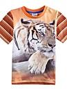 Children's T shirt Cartoon T shirt for Baby Boys Tiger Printing New Fashion Baby T shirts Boys Tees