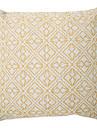1 pcs Coton/Lin Housse de coussin Coussin avec rembourrage,Geometrique Decontracte