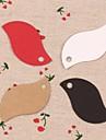 50buc frunze hârtie kraft atârnă etichete lables pentru cadouri marcaj de ambalare produse de panificație de nunta carduri de preț partid (mai multe