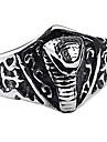 personlig gåva fashionabla rostfritt stål smycken graverad för män ring