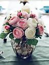 """9.1 """"h 10 capete / brad artistice trandafiri de ceai de aceeași culoare 2 ciorchini"""