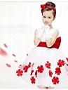 Fata lui Rochie Floral Vară Fără manșon Mov Fucsia Rosu Albastru Roz