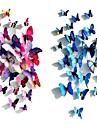 Farfalle di plastica Plastica / PVC Decorazioni di nozze Matrimonio / Feste Farfalle / Classico Per tutte le stagioni