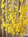 1 Gren Silke Plast Orkidéer Bordsblomma Konstgjorda blommor
