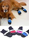 Câine Pantofi & Cizme Keep Warm Mată Negru Trandafiriu Rosu Albastru Pentru animale de companie