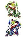 1 pcs Временные тату Временные татуировки Тату с животными Водонепроницаемый Искусство тела / С рисунком / Нижняя часть спины / Waterproof