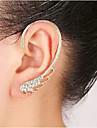 Dame Cătușe pentru urechi Pietrele Lunilor costum de bijuterii Ștras Aliaj Aripi / Pene Bijuterii Pentru Nuntă Petrecere Zilnic Casual