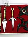 Vapen Inspirerad av Naruto Cosplay Animé Cosplay-tillbehör Vapen Legering Herr Dam Varm