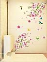 Animale Natură moartă Romantic Modă Botanic Perete Postituri Autocolante perete plane Autocolante de Perete Decorative, Vinil Pagina de