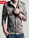 MANWAN WALK®Men's Fashion Army Design Slim Stand Collar Fit Casual Jacket