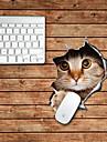 kattdesignen dekorativa musmatta mac hud klistermärken mac tillbehör