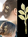 Agrafe de păr (Aliaj)-de Nuntă/Petrecere/Zilnic/Casual/Sport