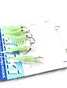 Mjukt bete Fiskbete Fiske krokar Fiske - 5 st Metall Silikon - Sjöfiske Kastfiske Färskvatten Fiske Trolling & Båt Fiske Generellt fiske