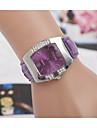 pentru Doamne Ceas Elegant Ceas de Mână Ceas Casual Simulat Diamant Ceas imitație de diamant Quartz PU Bandă CharmNegru Alb Roșu Pink