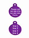 Cadou personalizat - Etichete - Aluminiu - Roșu/Negru/Verde/Albastru/Roz/Violet/Auriu/Argintiu
