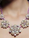 nunta / petrecere roz coliere perla elegant stil clasic feminin