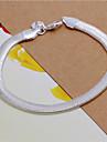 Geometric Brățări cu Lanț & Legături - Plastic Șarpe Modă Brățări Argintiu Pentru Nuntă / Petrecere / Zilnic