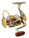 Fiskerullar Snurrande hjul 5.5:1 Växlingsförhållande+10 Kullager VÄNSTERHÄNT Sjöfiske Flugfiske Kastfiske Isfiske Spinnfiske Jiggfiske