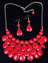 Dame Seturi de bijuterii Vintage Draguț Petrecere Casual Modă Bijuterii Statement Cute Stil Petrecere Ocazie specială Zi de Naștere Aliaj