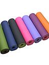 TPE Yogamattor Halkfri Klistrig Miljövänlig Ogiftig Vattentät Snabbtorkande Luktfri Tjock 6 mm Rosa Grön Orange Lila Svart Mörkblå Ljusblå