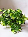 """1 ramură Poliester Plante Față de masă flori Flori artificiale 35(13.8"""")"""