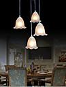 Retro Traditionnel/Classique Lampe suspendue Pour Salle a manger Ampoule non incluse