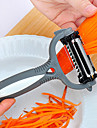 multifuncțional 360 de grade rotativ cartofi decojitor de legume tăietor fructe de fructe pepene verde cu trei lame