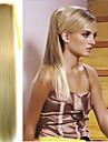 Pferdeschwanz Synthetische Haare Haarstueck Haar-Verlaengerung Glatt / Gerade