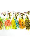 5 pcs Csali Mamac buzzbait i spinnerbait Spinner Baits Tvrde plastike Silicon Metal Floating Morski ribolov Slatkovodno ribarstvo