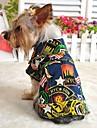Câine Τζιν μπουφάν Îmbrăcăminte Câini Modă Blugi Albastru Închis Albastru Deschis Costume Pentru animale de companie