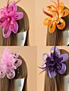 Femei Pană Tul Diadema-Nuntă Ocazie specială Informal Exterior Pălărioare Flori Pălării/Căciuli Clipuri de Păr 1 Bucată