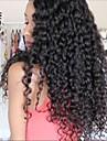 Obehandlad hår Hel-spets / Spetsfront Peruk Brasilianskt hår Lockigt 130% / 150% / 180% Densitet Med Babyhår / Mittparti Sy i /