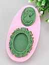 spegel och Manam fondant tårta tårta choklad silikon formar, dekoration verktyg bakeware sm-375