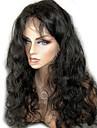 Äkta hår Hel-spets / Spetsfront Peruk Kroppsvågor 130% / 150% Densitet Naturlig hårlinje / Afro-amerikansk peruk / 100 % handbundet Korta / Mellan / Lång Dam Äkta peruker med hätta