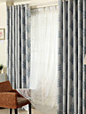Blackout Curtains Drapes Bedroom Polyester Jacquard