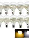 15W E26/E27 Bulb LED Glob 24 SMD 5630 1050 lm Alb Cald / Alb Rece Decorativ AC 220-240 V 10 bc