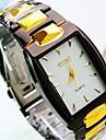 Bărbați Ceas de Mână Quartz Ceas Casual Oțel inoxidabil Bandă Charm Negru