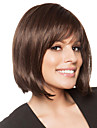 Showiest Bob Haircut Hand Tied Top Human Virgin Remy Hair Capless Short Wigs