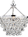QINGMING® Chandelier Uplight - Crystal, Traditional / Classic, 110-120V 220-240V, Warm White, Bulb Not Included