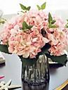 19 cm diameter stor storlek färgstarka hortensia bröllop dekoration konstgjord blomma