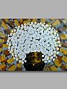 Pictat manual Floral/Botanic Orizontal, Modern pânză Hang-pictate pictură în ulei Pagina de decorare Un Panou