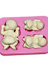 drăguț copil tummy tort de mireasa mucegai silicon cupcake coacere accesorii săpun mucegai