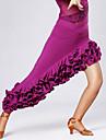Latein-Tanz Balletroeckchen und Roecke Damen Training / Leistung Viskose Drapiert Rock / Latintanz