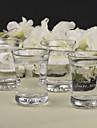 Sticlă fără Plumb Prăjire Flutes 12 Personalizat Cutie de Cadouri