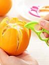 ziqiao dexterous portocale lamaie decojitori de fructe (culoare aleatoriu) 1 buc, unealtă de bucătărie