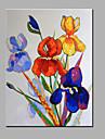 Hang-pictate pictură în ulei Pictat manual - Natură moartă Modern pânză