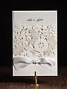 pliat în formă de poartă Invitatii de nunta 50-Invitații Stil Artistic Stil modern Stil Floral Hârtie Cretată Panglici
